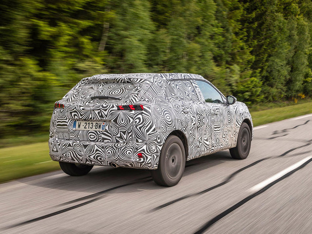 First drive: 2020 Peugeot e-2008 prototype