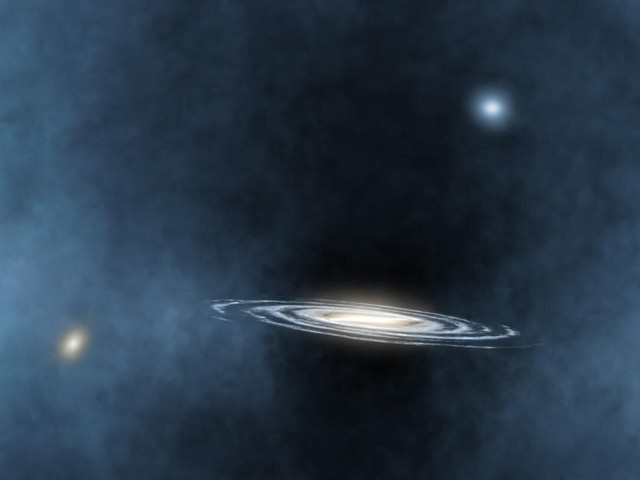 A study shows the unexpected effect of black holes beyond their own galaxies