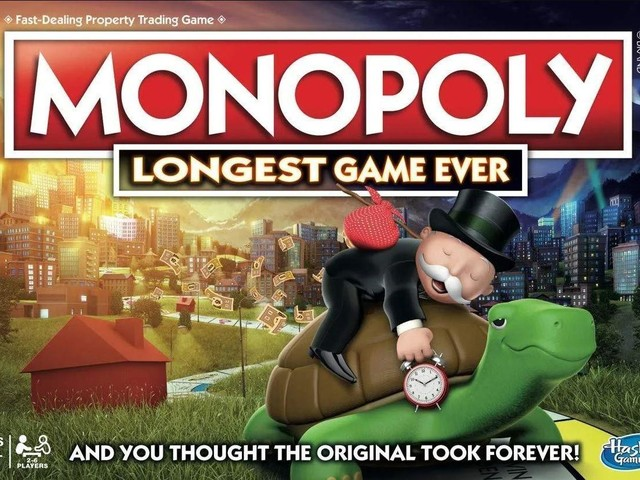Monopoly have released their 'longest ever' game for Christmas