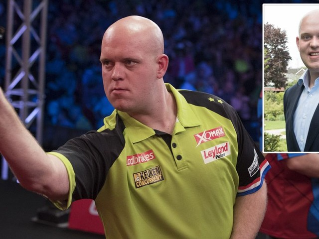 Michael van Gerwen eyes PDC world darts title to go with his Dutch 'knighthood'