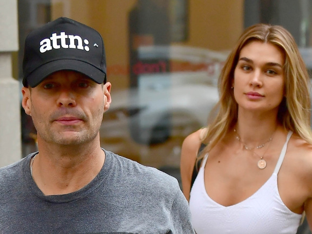 Ryan Seacrest Works Up a Sweat at Boxing Class with Mystery Woman