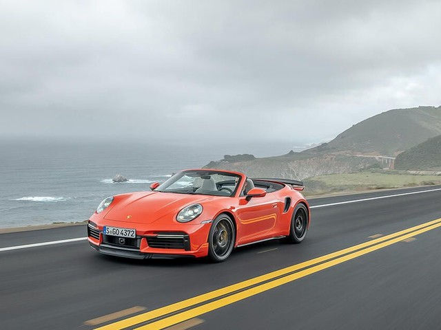 Porsche 911 Turbo S in for optional Sport and Lightweight packages - Roadshow
