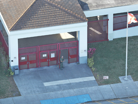 Newly Released Parkland Shooting Surveillance Footage Shows A Deputy Standing Outside The School
