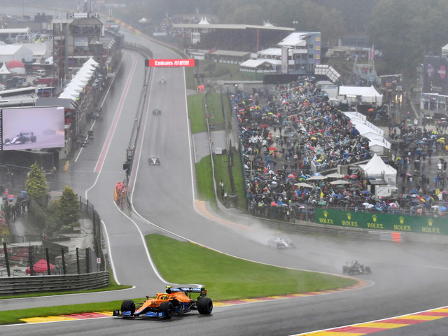 Recent accidents at Spa's famous Eau Rouge show it's time for action