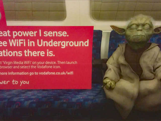 Vodafone drops WiFi coverage from the London Underground