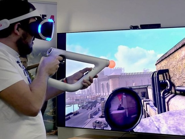Sniper Elite VR game expected to launch on PSVR
