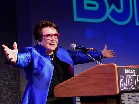 The Billie Jean King Leadership Initiative Salutes Billie Jean King's 75th birthday