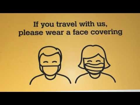 Customer engagement patrols on Metro promotes face coverings rule
