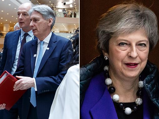 Chancellor Philip Hammond says Theresa May will remain Prime Minister until Brexit