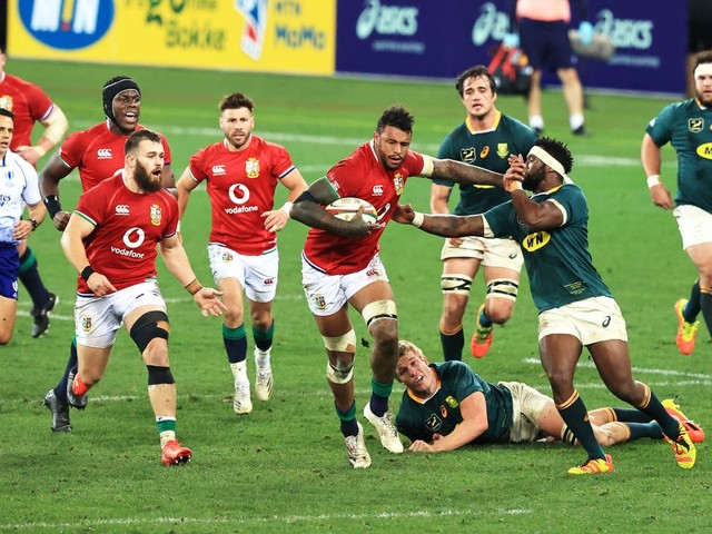 Lions storm back to power past South Africa in first Test victory in Cape Town