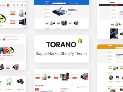 Torano - Supermarket Marketplace Ultimate Shopify Theme Section Ready (Shopify)