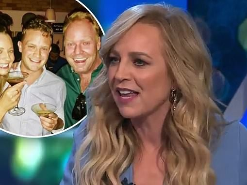 The Project's Peter Helliar accuses co-host Carrie Bickmore of lying after she makes a confession