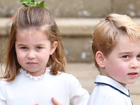 Princess Charlotte, 4, Bosses Big Bro Prince George, 5, Around In Cute New Videos – Watch