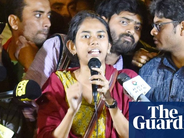 India campus attack: police fail to make arrests but charge injured student