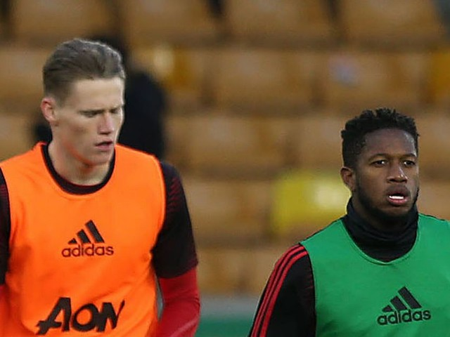 Manchester United manager Ole Gunnar Solskjaer sets Fred and Scott McTominay challenge