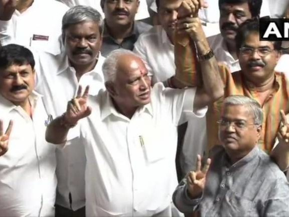 BJP bags the first seat in Assembly bypolls in Karnataka