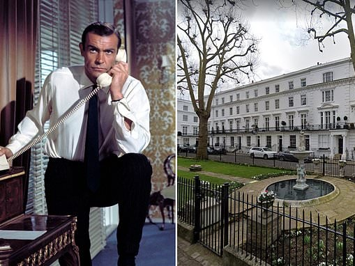 Author reveals James Bond's London address