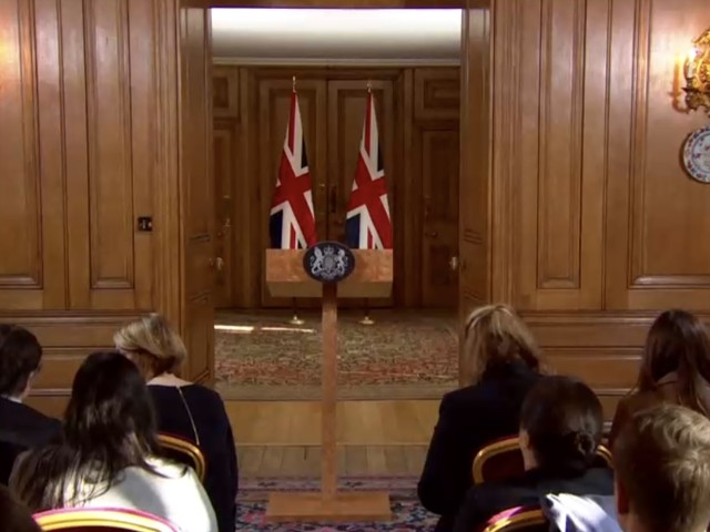 May Press Conference Live