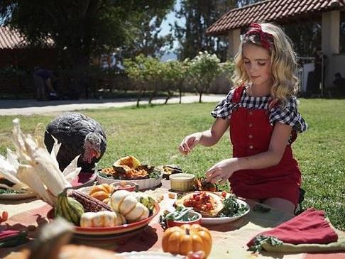 Mckenna Grace Stands Up For Turkeys