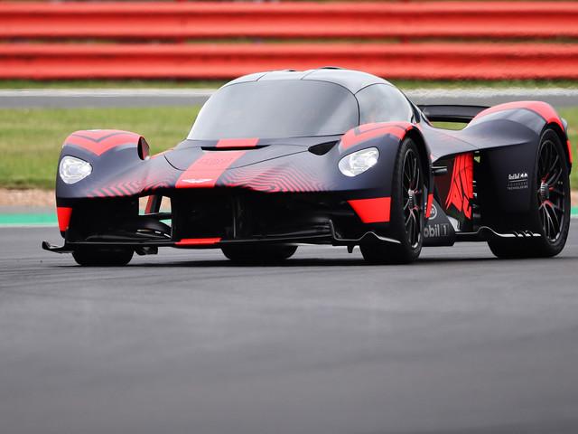 Aston Martin Valkyrie: 1160bhp hypercar debuts on track at 2019 British Grand Prix