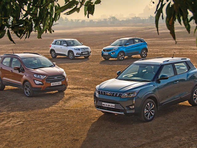 Review: XUV300 vs EcoSport vs Vitara Brezza vs Nexon comparison