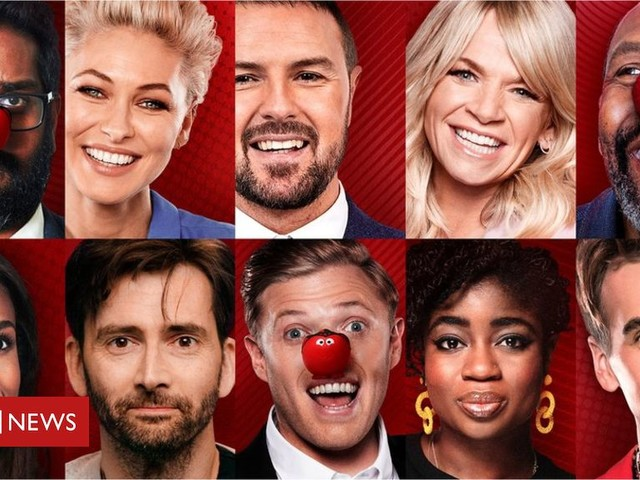 Stars line up for Comic Relief - what to look out for