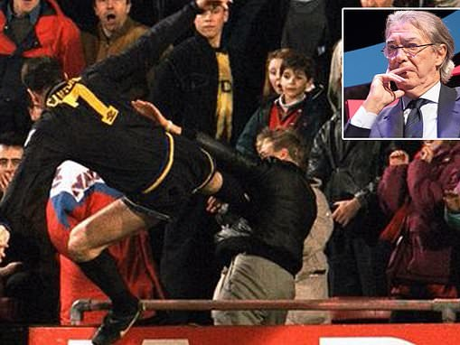 Ex-Inter Milan chief Massimo Moratti reveals regret at missing out on Eric Cantona