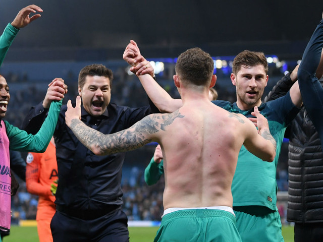Video: Tottenham through after a classic against Man City - all the goals and reactions