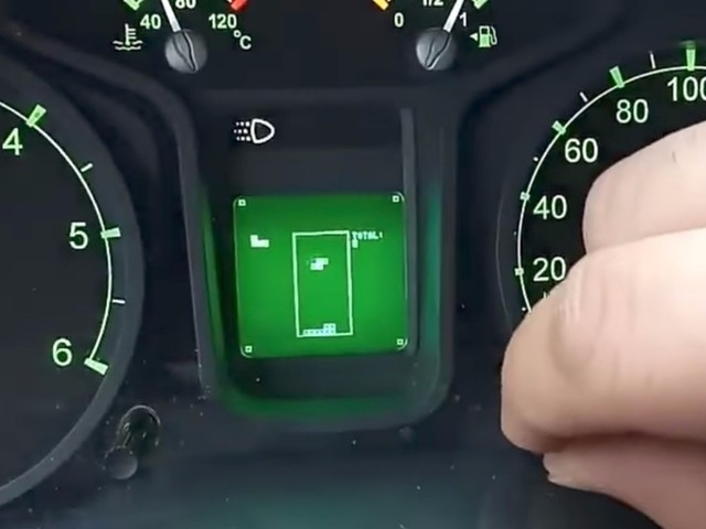 There's a playable game of Tetris hidden on the dashboard display of some Russian trucks