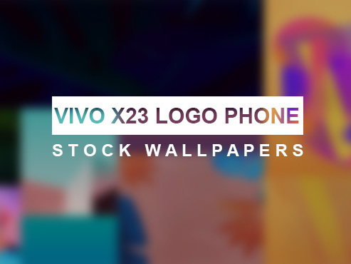 Download Vivo X23 Logo Phone Stock Wallpapers Tech Anygator Com