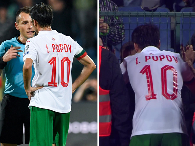Bulgaria captain Ivelin Popov begs fans to stop racist abuse with England clash in danger of being abandoned