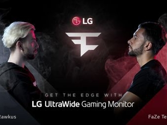 LG and 'FaZe Clan' collaborate to deliver new high-performance LG monitor