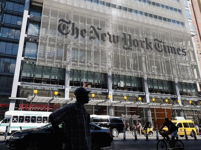 "New York Times Demands Apology From Fox for ""Malicious"" al-Baghdadi Story"