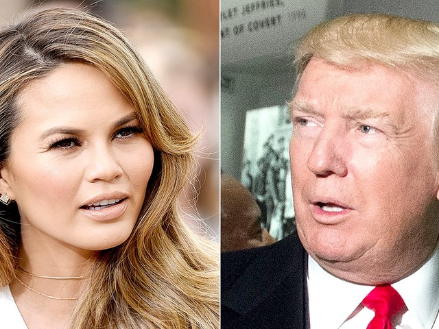 Chrissy Teigen SlamsDonald Trump on Twitter: 'Grow the F--K Up'