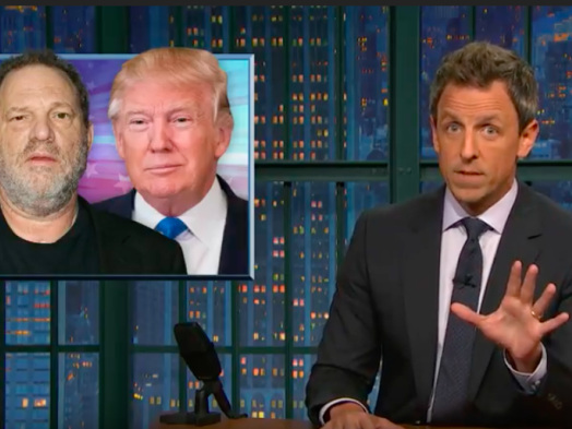 Seth Meyers Spotlights 'Male Entitlement:' 'A Culture of Systemic Misogyny Exists At the Highest Levels of Society'