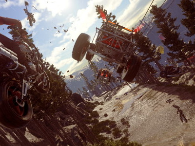 MotorStorm team's new racer Onrush looks smashing