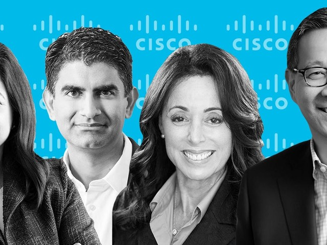 Meet the 7 Cisco executives backing CEO Chuck Robbins as the tech giant navigates the COVID-19 crisis and the rise of the cloud (CSCO)