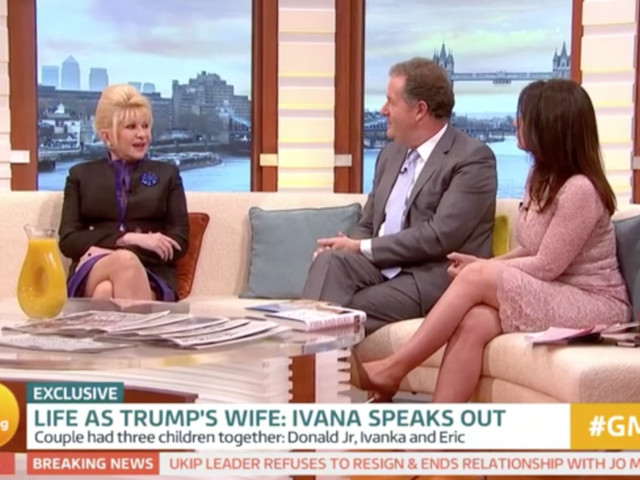 Ivana Trump Interview On Good Morning Britain Raises A Few Eyebrows