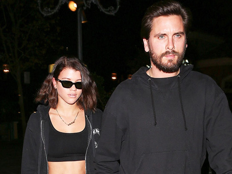 Scott Disick Spoiled Sofia Richie With Flowers When She Got Home From Girls' Trip