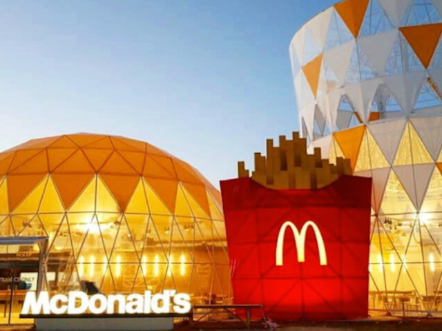 Athletes at the Olympics get McDonald's for free — here's what their personal fast-food restaurant looks like (MCD)