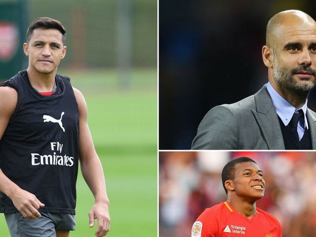 Man City news and transfer rumours LIVE Alexis Sanchez and Kylian Mbappe latest