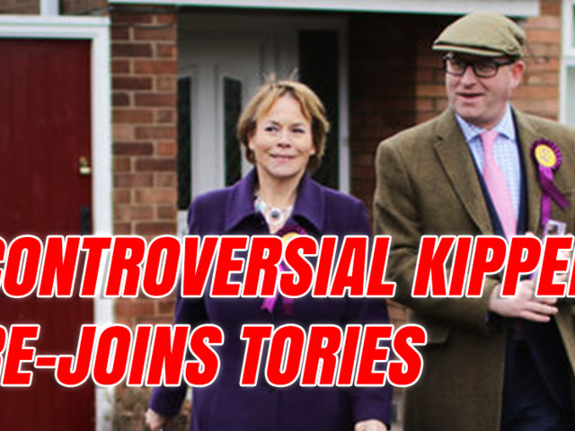 """Send the Lot Back"" Kipper Re-Joins Tories"