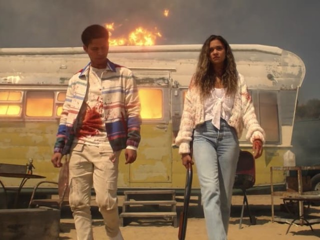 'American Horror Stories': Madison Bailey on How Kelley and Chad Got Burned by Their Own Badass Plan
