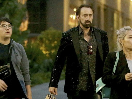Nicolas Cage celebrates Father's Day with third ex-wife Alice Kim and son Kal-El