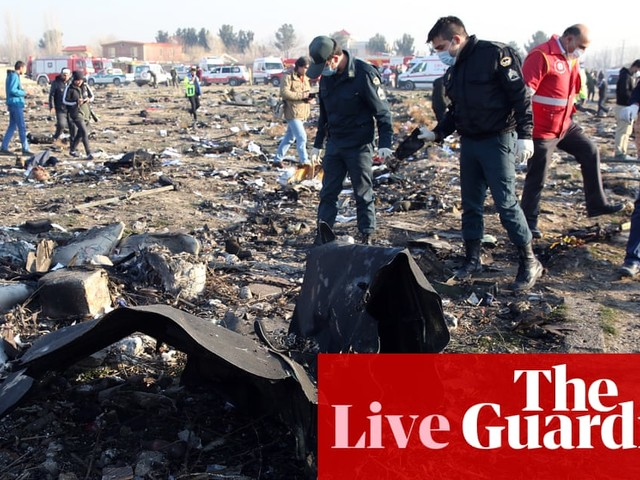 Iran's admission it shot down airliner is 'important first step', says Boris Johnson – live news