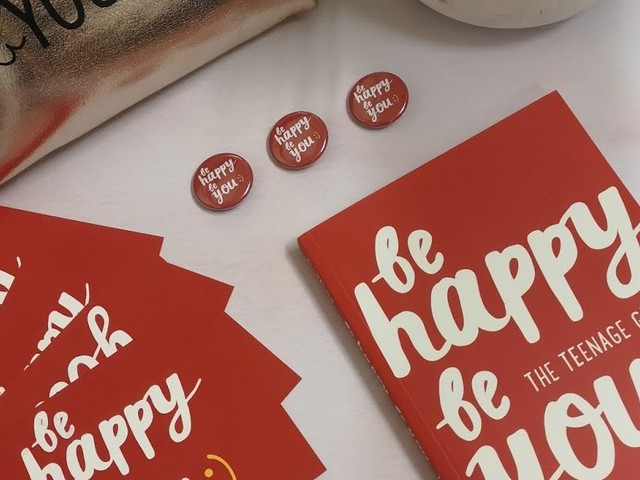 Be Happy, Be You - A Great Resource for your Teens Happiness #BeHappyBeYou