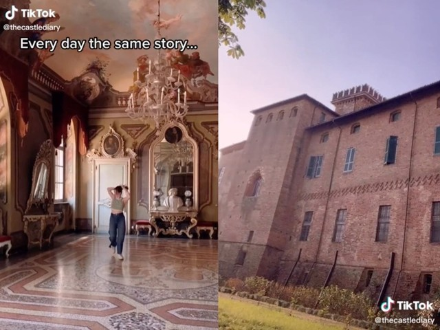 Teenager documents inconveniences of living in real-life medieval castle in viral TikTok videos