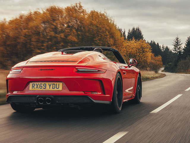 Porsche 911 Speedster 2019 UK review