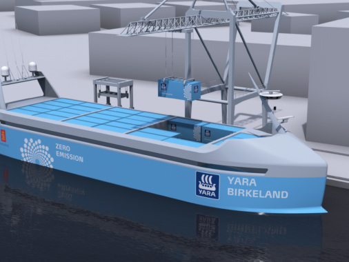 Crewless electric cargo ships may be on the horizon in Norway