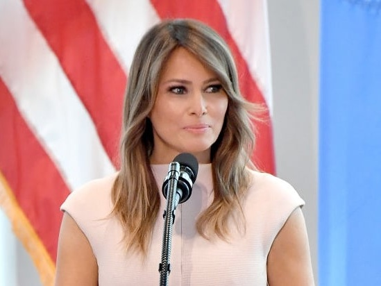 Melania Trump Shows Off White House Christmas Decorations – Including a Hospital and a Fox (Video)